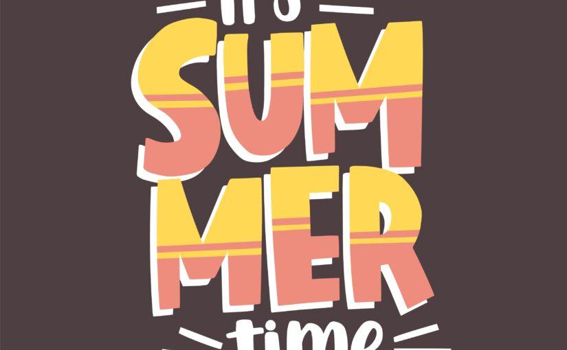 Sommerzeit-Eine Glosse